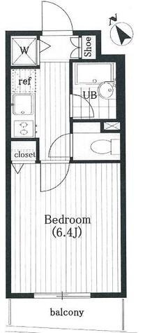 パレステュディオシンシア文京千石 / 4階 部屋画像1