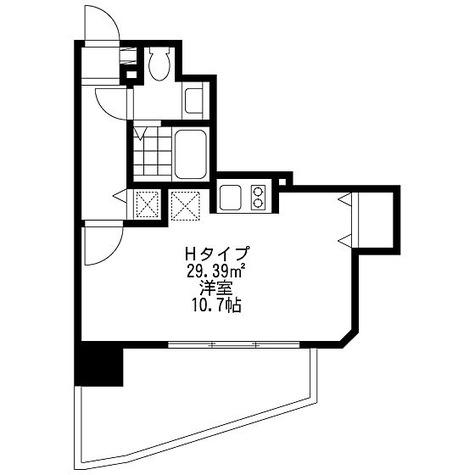 SIDE One(サイドワン) / Hタイプ(29.39㎡) 部屋画像1