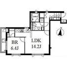 南麻布ウエスト / 1LDK(50.23㎡) 部屋画像1
