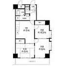 T's garden蕨Ⅲ / 3DK(57.5㎡) 部屋画像1