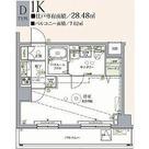 クレヴィスタ亀戸 / Dタイプ(28.48㎡) 部屋画像1