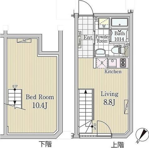 LAPIS白金高輪 / 1LDK(39.09㎡) 部屋画像1