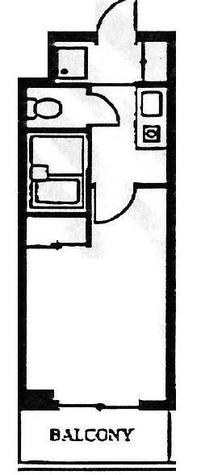 スカイコート日本橋第2 / 5階 部屋画像1
