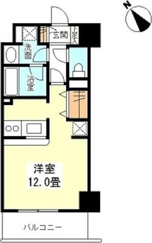 TKフラッツ渋谷 / ワンルーム(32.74㎡) 部屋画像1