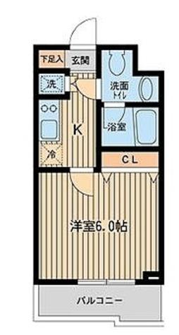 KDXレジデンス雪谷大塚 / Aタイプ(20.56㎡) 部屋画像1