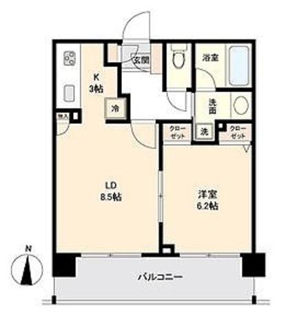 CASSIA新高円寺 / Fタイプ(42.21㎡) 部屋画像1