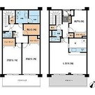 HF馬込レジデンス / E1タイプ(139.49㎡) 部屋画像1