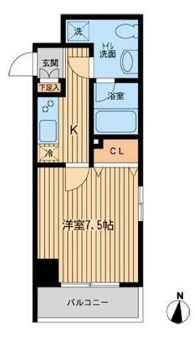 コンフォリア清澄白河トロワ / 3階 部屋画像1