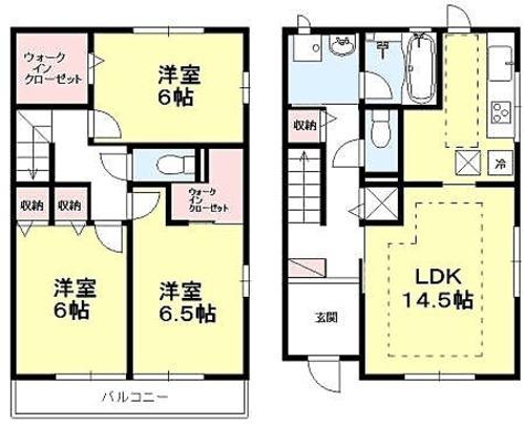 成城学園前 21分テラスハウス / I-3LDK(89.8㎡) 部屋画像1