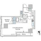 ベルファース芝浦タワー / 1L-Cタイプ(44.97㎡) 部屋画像1