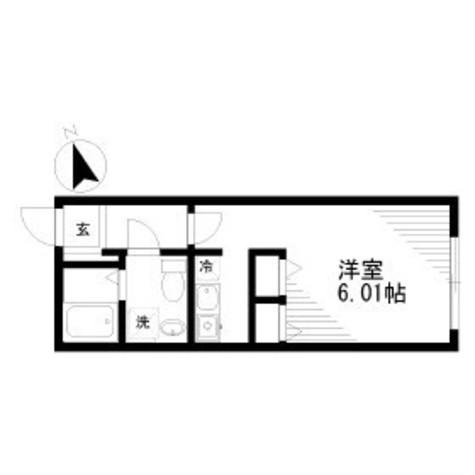 ゼスティ神楽坂Ⅱ(ZESTY神楽坂Ⅱ) / 1階 部屋画像1