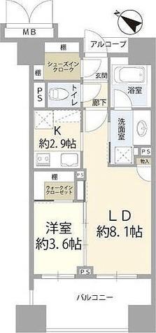 プレミスト横浜ポートサイド / 10F 部屋画像1