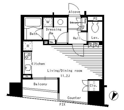 パークアクシス日本橋ステージ / 5階 部屋画像1