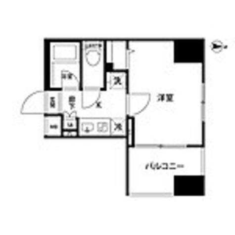 ルクレ錦糸町 / 1K(22.95㎡) 部屋画像1