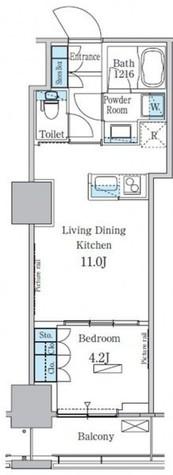 パークアクシス横濱関内スクエア / C1タイプ(36.26㎡) 部屋画像1