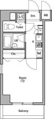 プラムハウス日本橋 / 5階 部屋画像1