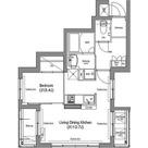 コンフォリア麻布台 / Dタイプ(36.78㎡) 部屋画像1