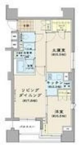 パークハビオ八丁堀 / 6階 部屋画像1