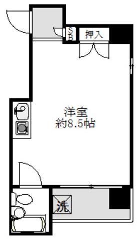 ピドル川田 / 4階 部屋画像1
