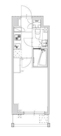 メイクスデザイン清澄白河アジールコート / 2階 部屋画像1