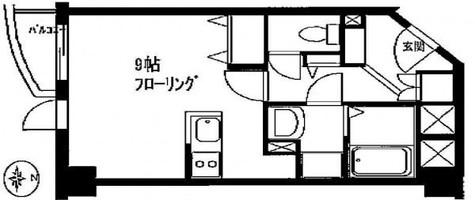 TK田園調布レディースフラッツ / 2階 部屋画像1