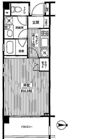 ユニテ・ド・ブラン (石川町2) / 3階 部屋画像1