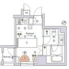 アパートメンツ銀座東 / 9階 部屋画像1
