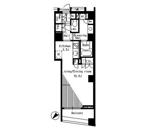 パークアクシス日本橋ステージ / 5 Floor 部屋画像1