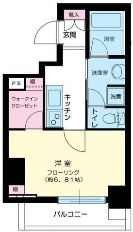 グランステューディオ市ヶ谷薬王寺Ⅱ / 2階 部屋画像1