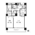 リバーポイントタワー / 1509 部屋画像1