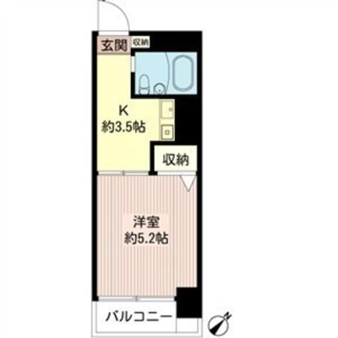 プラザ飯田橋 / 3階 部屋画像1