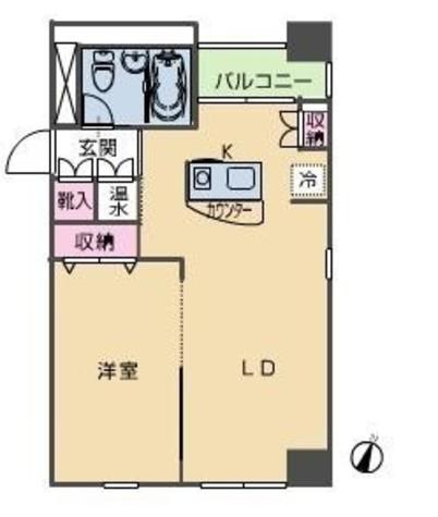 HF八丁堀レジデンスⅢ(旧シングルレジデンス八丁堀Ⅲ) / 10階 部屋画像1