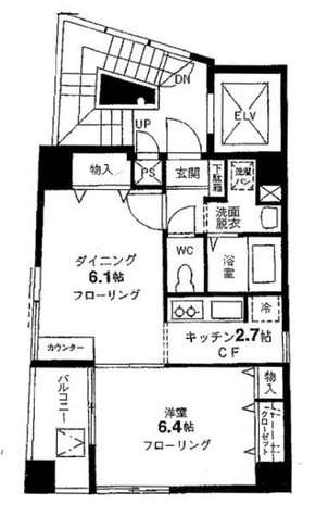 サンテール千駄木 / 6階 部屋画像1