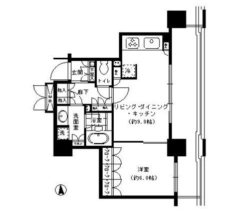 秋葉原 4分マンション / 1105 部屋画像1