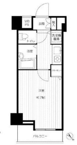 スペーシア日本橋 / 5階 部屋画像1