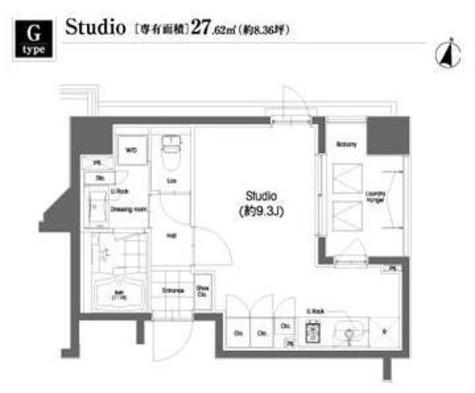 コンフォリア笹塚 / 3階 部屋画像1