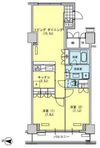 辰巳 11分マンション / 1308 部屋画像1