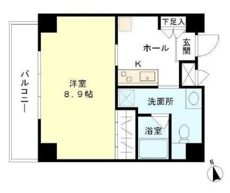 アイトー・ロワイヤル青物横丁 / 2階 部屋画像1
