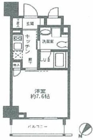 蔵前 3分マンション / 4階 部屋画像1