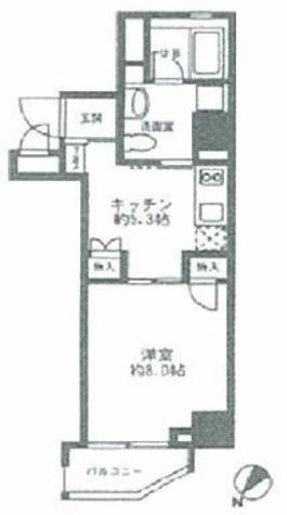 蔵前 3分マンション / 6階 部屋画像1