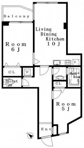 代々木クレスト / 5階 部屋画像1