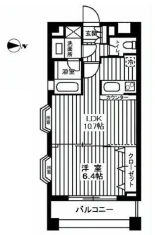 カスタリア自由が丘 / 301 部屋画像1