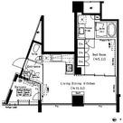 六本木エムケイアートレジデンス / 3階 部屋画像1