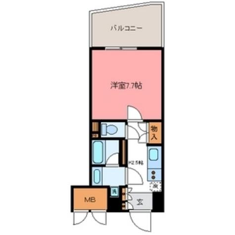 ナーベルお茶の水 / 8階 部屋画像1
