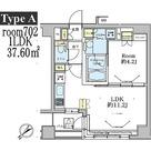 ドゥーエ五反田(旧デュオステージ五反田) / 702 部屋画像1