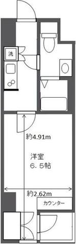 アムス四谷三丁目 / 10階 部屋画像1