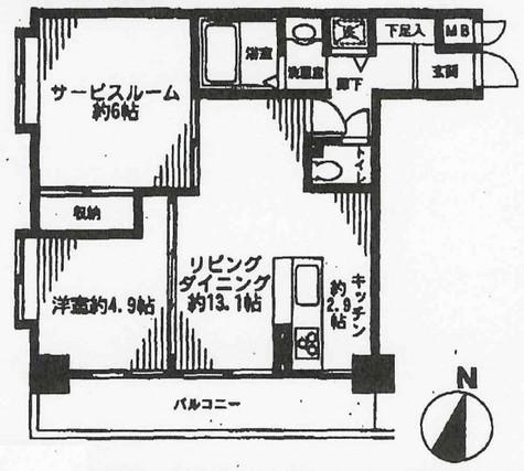 渋谷アムフラット / 403 部屋画像1