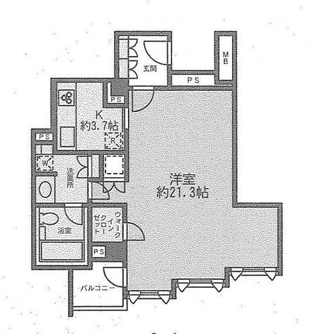 ストーリア赤坂 / 1階 部屋画像1