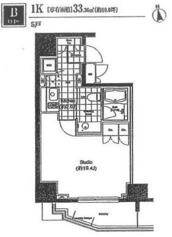 BPRレジデンス恵比寿 / 4階 部屋画像1