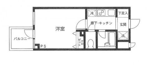 プライムアーバン飯田橋 / 9階 部屋画像1